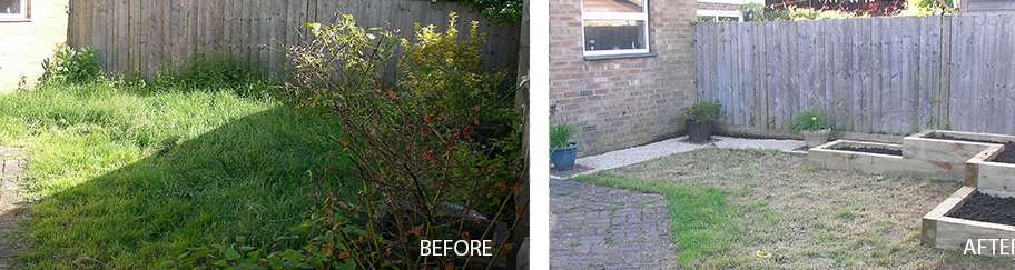 "Landscaping and ""Small landscaping"" work"